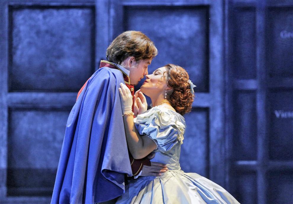 Ромео и Джульетта в театре в Милане
