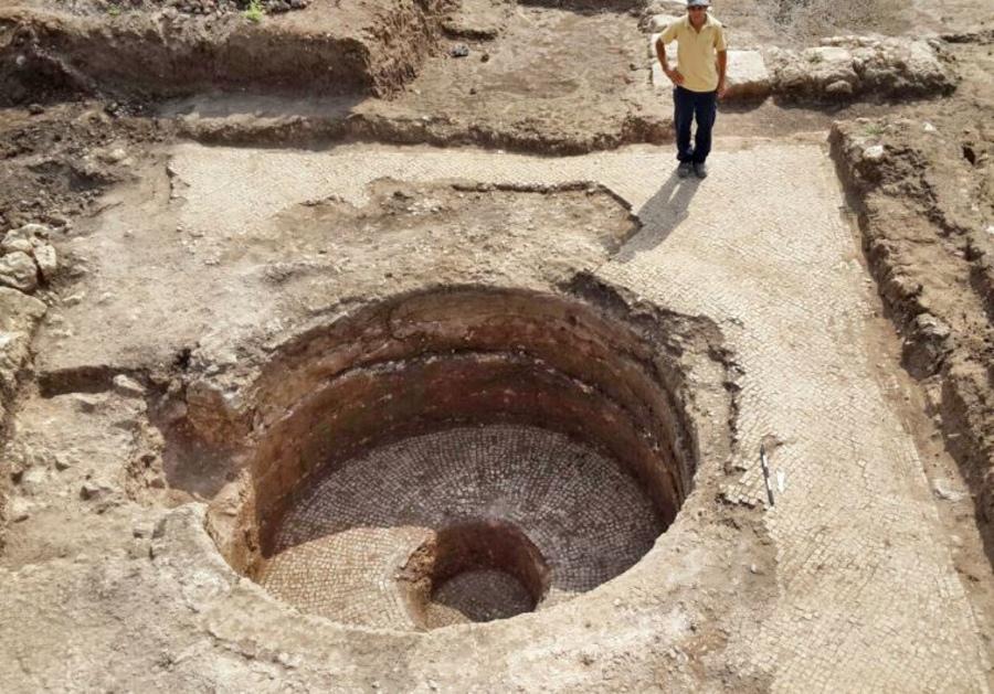 Древний винный пресс в Израиле